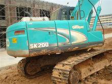 Used Sk200-8 Kobelco