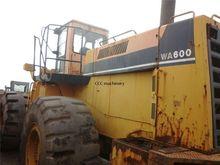 Used Komatsu WA600-1