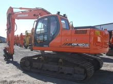2010 Doosan DX 180 LC high trac