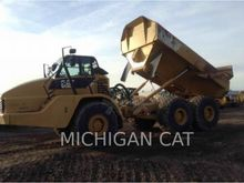 2011 Caterpillar 740 T Articula