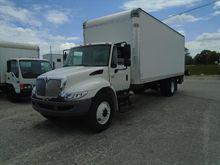2012 Ihc 4300 24ft van w/Liftga