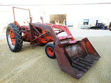 1949 Case SC tractor with 12 vo