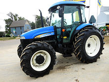 2011 New Holland TD5050 4wd tra