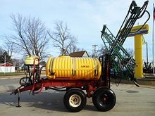 Used Century 750 gallon trailer