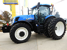 2012 New Holland T7.235 4wd tra