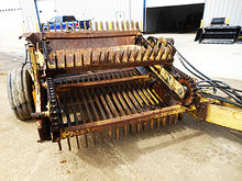 Used Schulte RSH4 rock picker