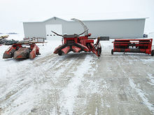 2001 Gehl CB1275 forage harvest