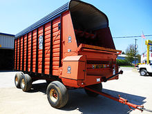 Meyer 618TSS 18' forage box wit