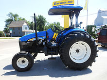 2007 New Holland TD95D 2wd trac