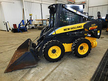 2005 New Holland LS160 skid ste