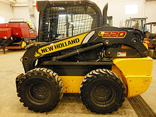 2014 New Holland L220 SSL, 2 sp