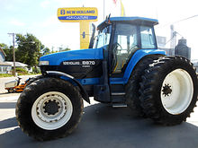 1998 New Holland 8870 4wd tract