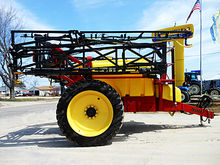 Top Air 1200 T-tank sprayer wit