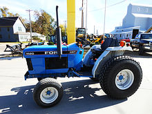 1995 New Holland 1520 compact d