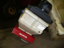 Used insecticide boxes, dry fer