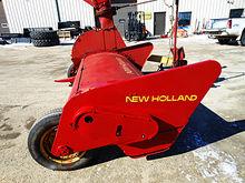 New Holland 38 crop chopper