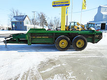 John Deere 780 tandem axle hydr