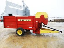 Used Gehl BF130 feeder wagon