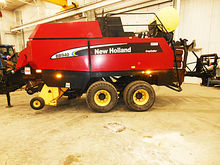2007 New Holland BB940A big squ