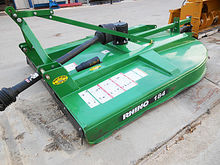 Used Rhino 184 3 pt. cutter