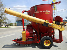 New Holland 355 all-hydraulic d