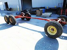 Used Gehl 12-ton tandem axle ru