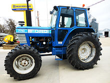 1983 Ford 7710 4wd tractor with