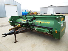 Balzer 12' windrower stalk chop