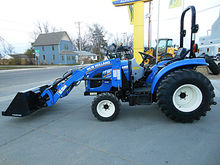2015 New Holland Boomer 33 4wd