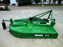 "Rhino 172 72"" rotary cutter"