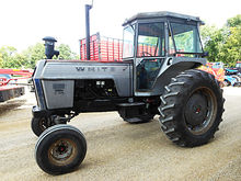 1980 White 2-105 2wd tractor wi