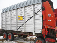 Meyer 518 16-foot forage box