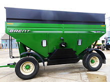 Used Brent GT644 grain wagon
