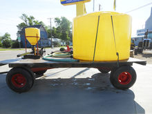 1,200 gallon water tank, chemic