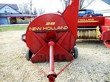 Used New Holland 28 forage blow