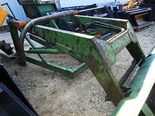 "John Deere 35 loader with 80"" b"