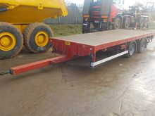 2002 Abel Twin Axle Flat Bed Dr