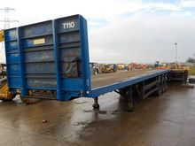 2003 Montracon Tri Axle Flat Be