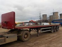 Tinsley Trailers Tri Axle Flat