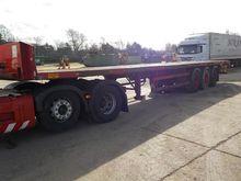 Crane Freuhauf Tri Axle Flat Be