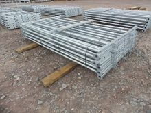 Cattle Hurdles (10 of) c/w Pins