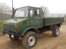 1982 Mercedes Benz 4x4 Dropside