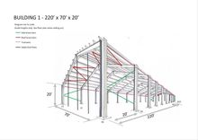 Steel Frame Building 220' x 70'