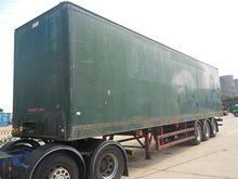 Craven Tasker Tri Axle Box Trai