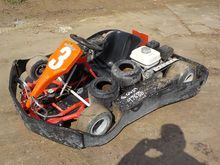 Adult Go-Kart c/w Disc Brakes,
