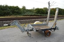 Single Axle Trailer (Fire Damag