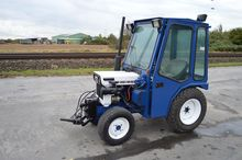 Satoh 4WD Compact Tractor c/w F