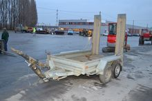 Remorques Hubiere Twin Axle Tra
