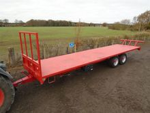 2015 Hall 33ft Bale Trailer For