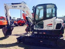 2014 Bobcat E85 Track excavator